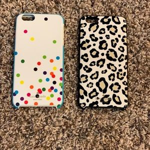 Kate Spade iPhone 6/6s plus cases